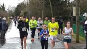 Runners in the Paddock Wood Half Marathon