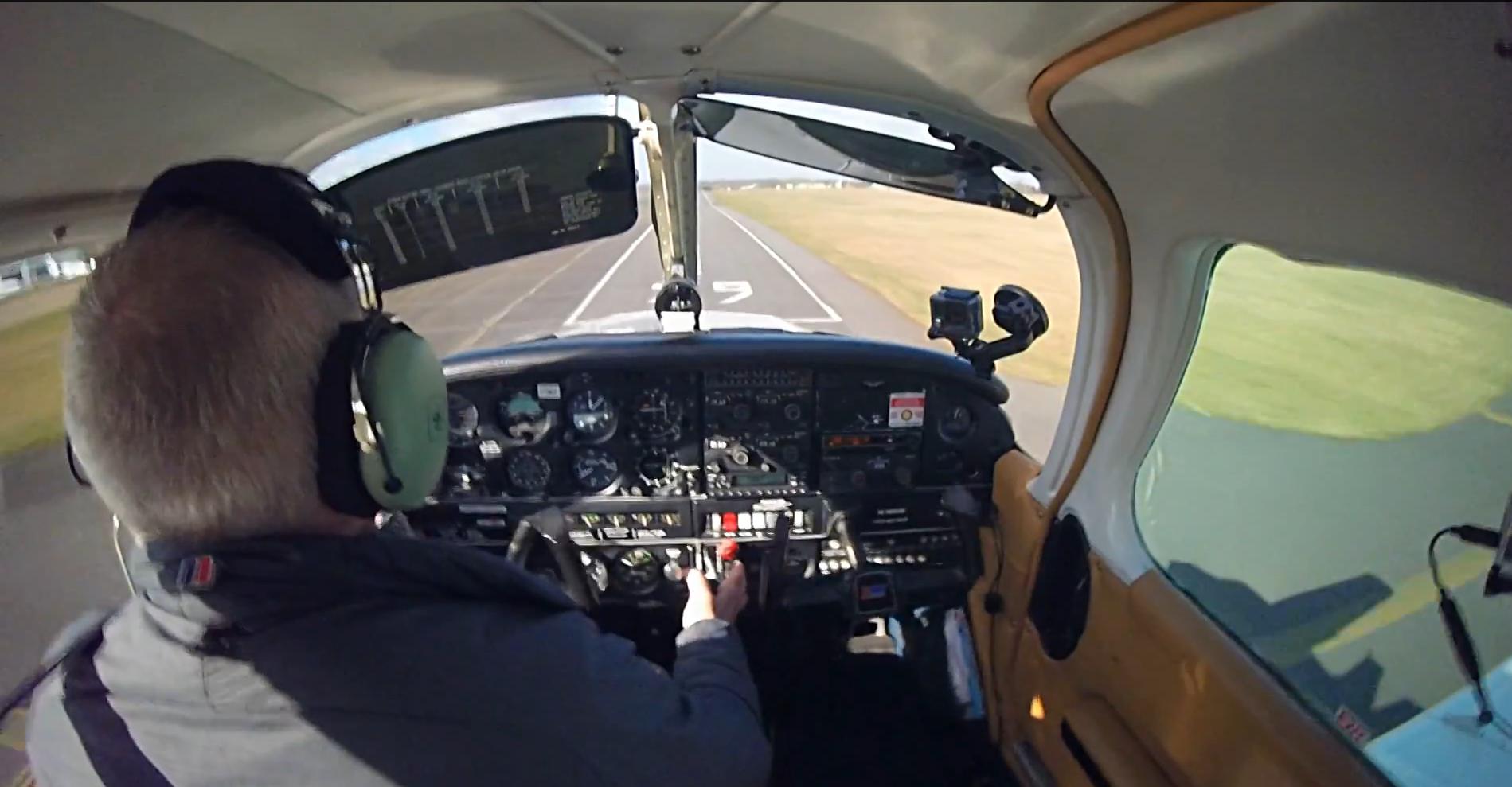 Landing runway 29 at Biggin Hill