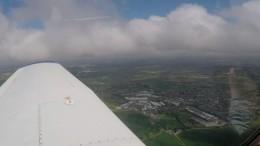 Aerial view of Paddock Wood