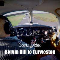 Unedited flight Biggin Hill to Turweston