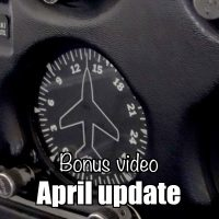 Bonus video: April Update