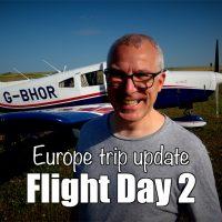 Europe trip - Flight day 2