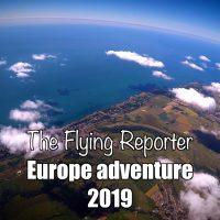 Europe adventure Redhill to Alderney