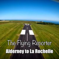 Flying from Alderney to La Rochelle