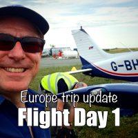 Flight day 1 - update