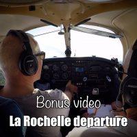 Bonus video: La Rochelle departure