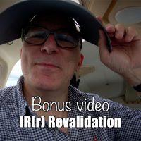 Bonus video: IR(r) revalidation test