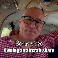 Bonus: Owning an aircraft share