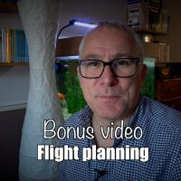 Bonus video: International flight planning