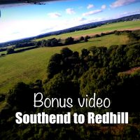 Bonus video: Tight base, RWY 36 Redhill