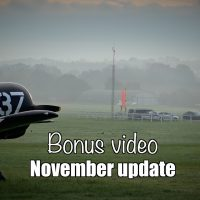 Bonus video: November update