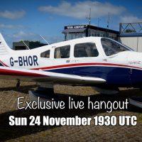 Live hangout 24 November 1930UTC