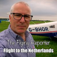 Flying from the UK to the Netherlands