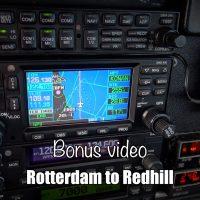 Bonus video: Rotterdam to Redhill VFR