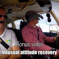 Bonus video: Unusual attitude recovery