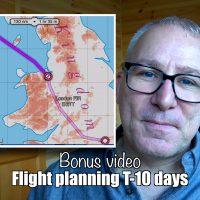 Bonus video: Planning flight to Belfast