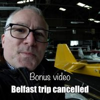 Belfast trip cancelled