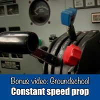 Groundschool: Constant speed propeller
