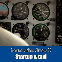Differences training: Arrow 3 Startup & taxi