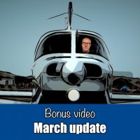 Bonus video: March Update
