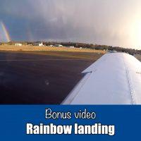 Bonus: Rainbow landing