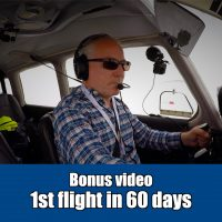 1st flight in 60 days - debrief