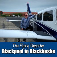 Blackpool to Blackbush - Piper arrow 3