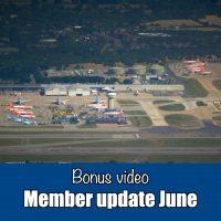 Bonus video: Member update June